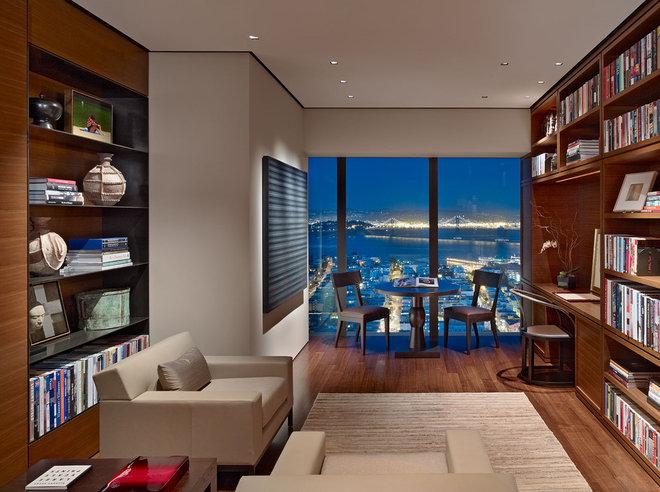Contemporary Home Office by Zack|de Vito Architecture + Construction