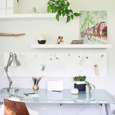 Midcentury Home Office by christina loucks designs + styling