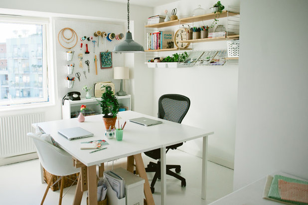 Scandinavian Home Office by Katharine Peachey