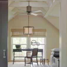 Eclectic Home Office by Linn Gresham Haute Decor