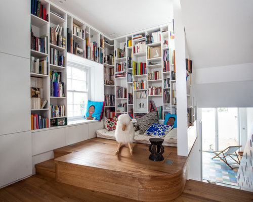 Library Room Ideas Adorable Small Library Room Ideas  Houzz Design Inspiration