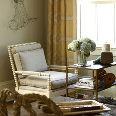 traditional home office by J. Hirsch Interior Design, LLC