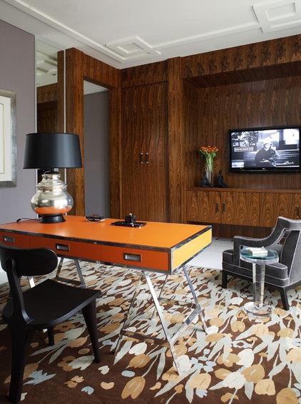 Modern Home Office by Jamie Herzlinger