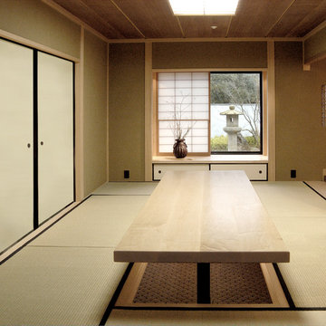 Japanese-style Home Office