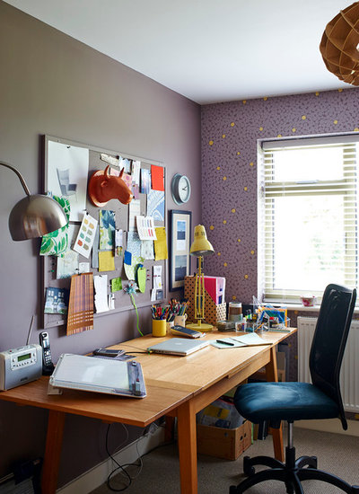 Contemporary Home Office by jonathan gooch photography