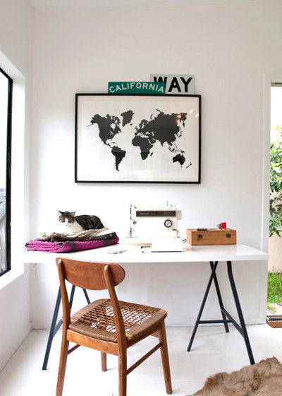 Contemporary Home Office by Jette Creative