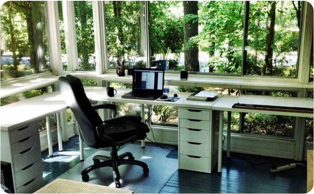 Home Office by Jody Brown Architecture, pllc