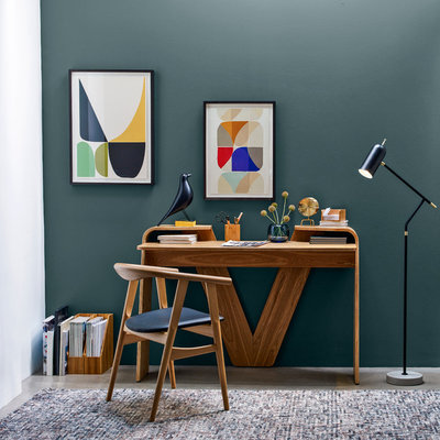 Midcentury Home Office by John Lewis & Partners