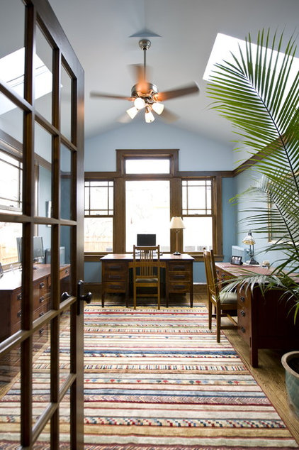 traditional home office by Jones Design Build
