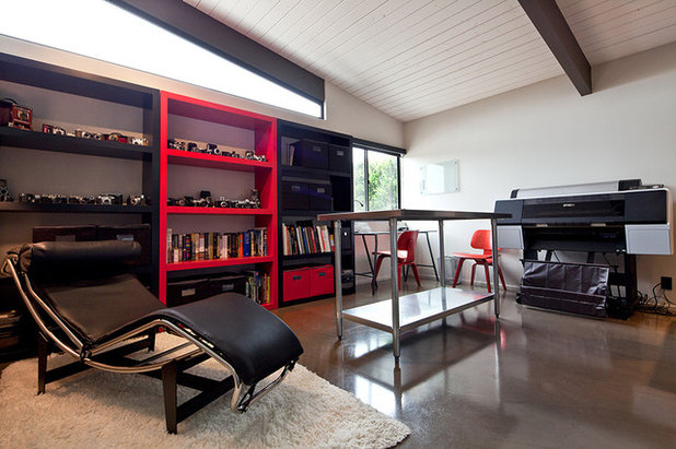Modern Home Office by Mark A Silva, Architect
