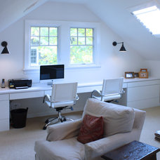 Contemporary Home Office by Dolby Development, Inc