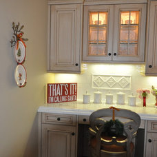 Traditional Home Office Junior League Holiday Home Tour
