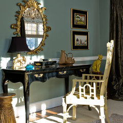 traditional home office by Michael J. Lee Photography