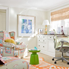 contemporary home office by Michael J. Lee Photography