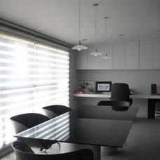 Contemporary Home Office by Karen Maximo-Fernando