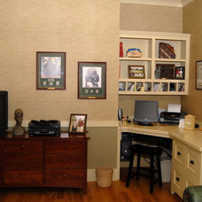 Traditional Home Office by Cole Design Studio, LLC