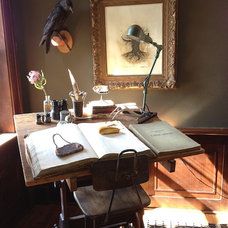 Industrial Home Office by Emily Winters