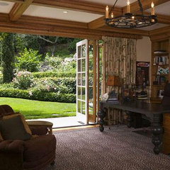 traditional home office by David Ludwig - Architect