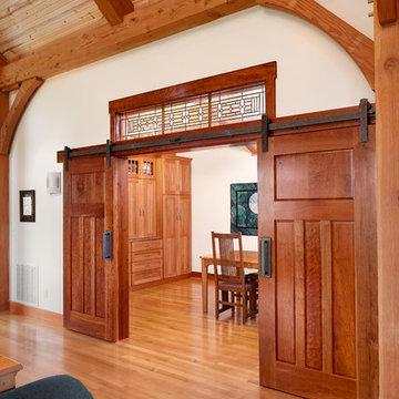 Kentucky Craftsman Timber Frame Home - The Paducah Residence - Sewing Room