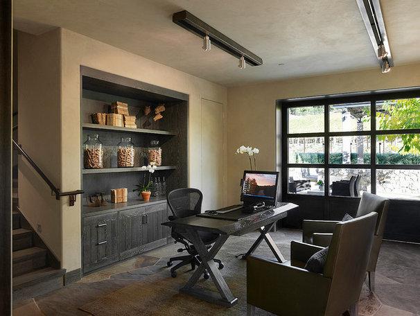 Contemporary Home Office by E C Schmitt & Company
