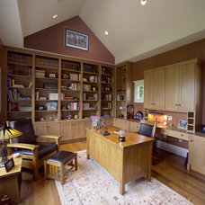 Traditional Home Office by LS3P   Neal Prince Studio