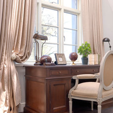 Traditional Home Office by Minnie Peters