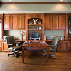 traditional home office by James Patrick Walters