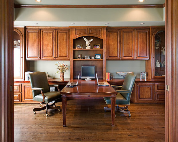 setting up home office. traditional home office by james patrick walters setting up q