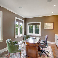 traditional home office by RW Anderson Homes