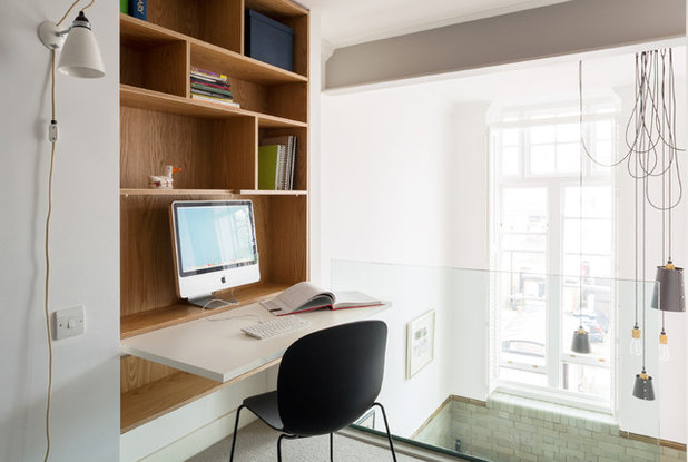 Contemporary Home Office by Kirkwood McLean Architects