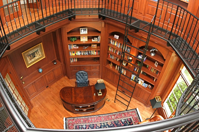 Traditional Home Office by Kitchen & Bath Galleries