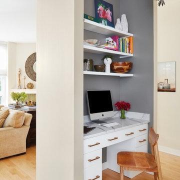 Kitchen & Fireplace Facelift