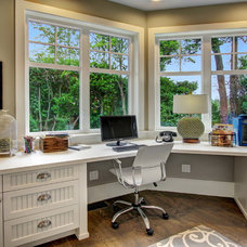 Traditional Home Office by NW LifeStyle Homes