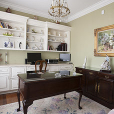 Traditional Home Office by Morrison Kitchen & Bath