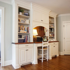traditional home office by Cabinet Concepts, Greensboro