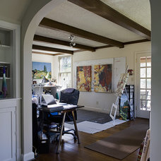 Contemporary Home Office by Fisher Group LLC