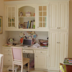 traditional home office by Center Island Contracting Inc.
