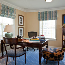 Traditional Home Office by Kitchen Designs by Ken Kelly, Inc. (CKD, CBD, CR)