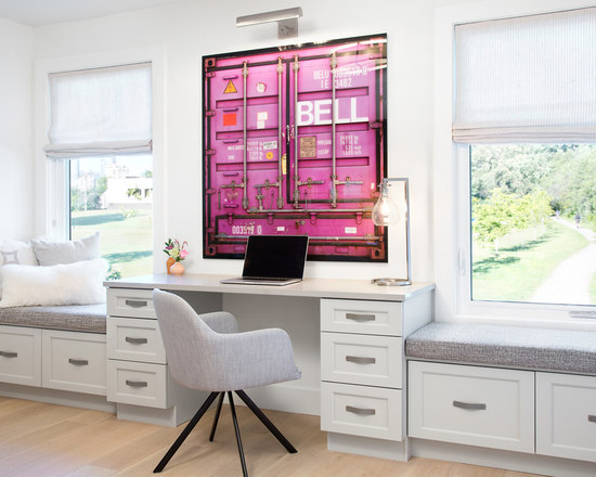 small home office design ideas, remodels & photos
