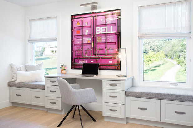 Transitional Home Office by Form Collective