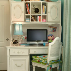 Traditional Home Office by Kitt Haman Design