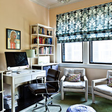 Eclectic Home Office by Karoline Kable, ASID