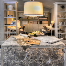 Modern Home Office by Kate Marker Interiors