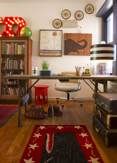 Contemporary Home Office By Kate Maloney Interior Design