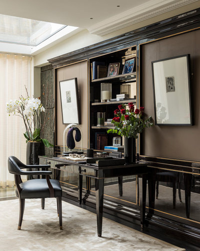 Transitional Home Office by Oficina Inglesa London