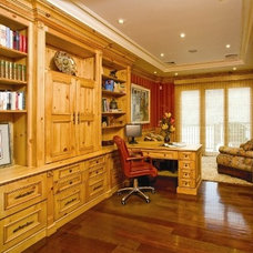 Traditional Home Office by Superior Woodcraft, Inc.