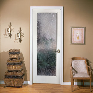 Kona Decorative Glass Interior Door
