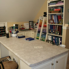 Contemporary Home Office by Lowes of Indian Land, SC