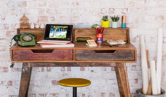 KRUGER reclaimed wood desk