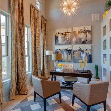 La Cima - Tuscany Series vinyl windows and Moving Glass Walls